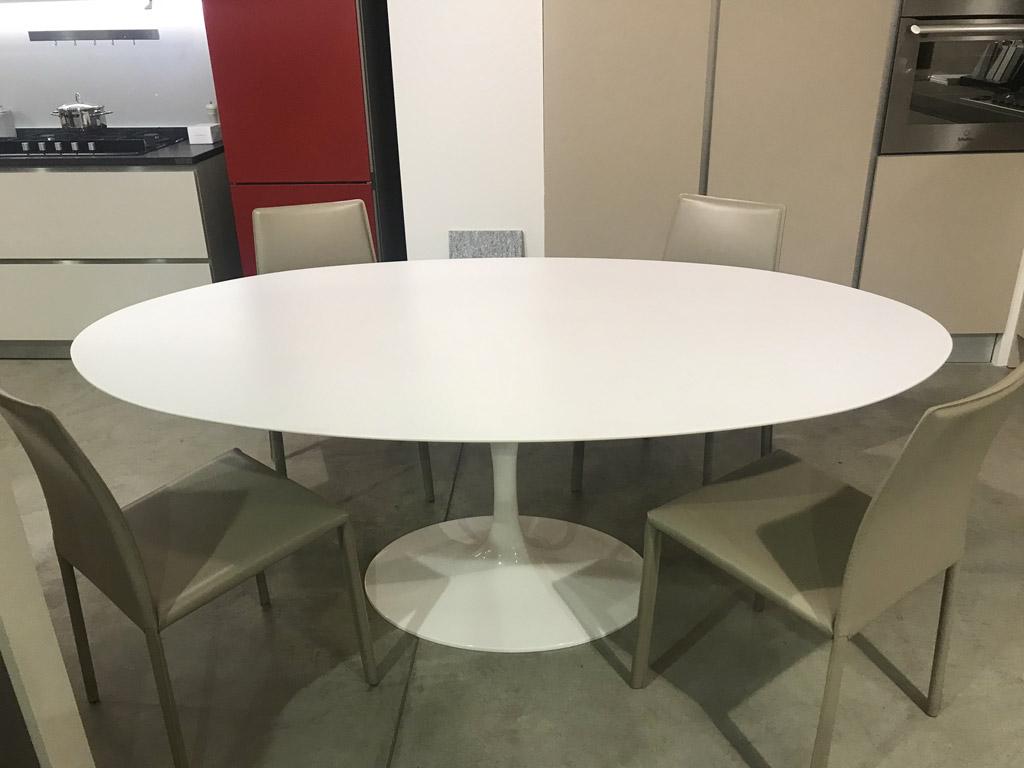 Tavolo Ovale Bianco : Tavolo ovale bianco